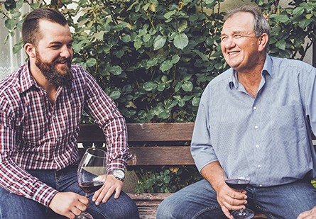 Weingut Pinetz - Vater und Sohn